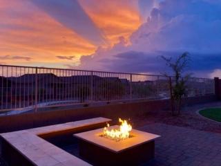 Firepit Seating Landscape Design - Gilbert AZ - The Yard Stylist
