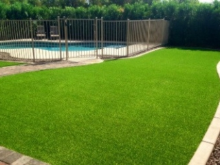 Landscape Design and Installation - The Yard Stylist - Queen Creek AZ - Artificial Grass Turf Pool