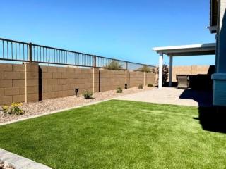 Artificial Grass – Back Yard – Pergola – Plants – Yard Stylist – AZ