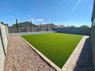Artificial Grass – Decorative Rock – Lawn Edging – Paver Walkway – Yard Stylist – San Tan Valley, Arizona