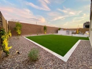 Artificial Grass – Decorative Rock – Lawn Edging – Yard Stylist – Eastmark, Arizona
