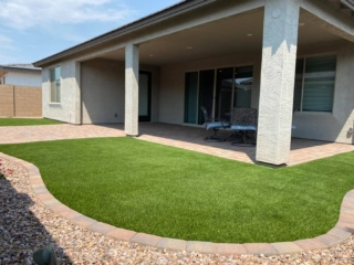 Artificial Grass – Decorative Rock – Lawn Edging – Yard Stylist – Queen Creek, Arizona