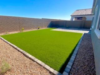 Artificial Grass – Decorative Rock – Paver Edging – Patio – Yard Stylist – Eastmark AZ