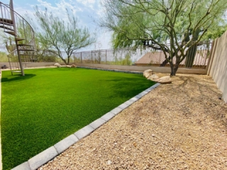 Artificial Grass – Decorative Rock – Yard Stylist – Desert Mountain Scottsdale Arizona