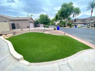 Artificial Grass – Front Lawn – Yard Stylist – Chandler, AZ