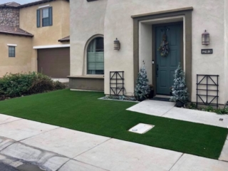 Artificial Grass Installation – Chandler AZ – At Front Yard Entrance – The Yard Stylist