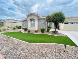 Artificial Grass Installation – Queen Creek AZ – Front Yard Landscaping – The Yard Stylist