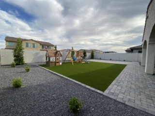 Artificial Grass Installation – San Tan Valley AZ – Children's Playground – The Yard Stylist