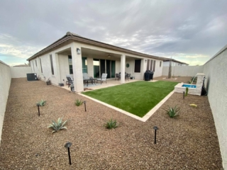 Artificial Grass – Landscaping Plants – Succulents – Patio – Water Fountain – Yard Stylist – Queen Creek, AZ