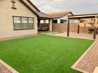 Artificial Grass – Lawn Edging – Patio – Pergola – Decorative Rock – Yard Stylist – AZ