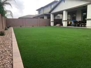 Artificial Grass – Lawn Edging Pavers – Landscape Rock – Yard Stylist – Recker Pointe AZ