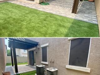 Artificial Grass – Paver Patio with Pergola – Yard Stylist – Power Ranch Arizona