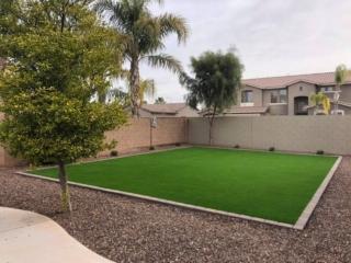 Artificial Grass – Pavers for Edging – Landscape Rock – Yard Stylist – Fonte al Sol – Chandler AZ