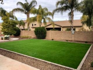 Artificial Grass – Pavers for Edging – Plants Landscape Rock – Yard Stylist – Fonte al Sol – Chandler AZ