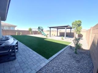 Artificial Grass – Pergola – Paver Patio – Queen Creek, AZ