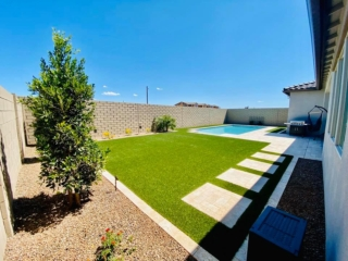 Artificial Grass – Pool – Pavers and Edging – Decorative Plants – Yard Stylist – Eastmark AZ