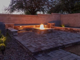 Fire Pits and Outdoor Fireplaces – Queen Creek AZ – Dark – The Yard Stylist