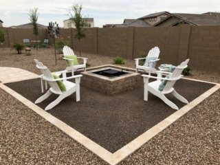 Fire Pits and Outdoor Fireplaces – Queen Creek AZ – The Yard Stylist
