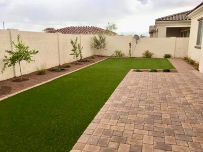 Hardscapes - Patio Pavers - Artificial Grass - Trees and Landscape Rock - Edging - Yard Stylist - AZ
