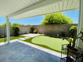 Putting Green – Paver Patio – Artificial Grass – Pergola – Yard Stylist – Haven, Chandler AZ