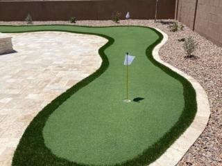 Putting Green – Paver Patio – Landscape Rock – Yard Stylist – Marbella Vineyards – Gilbert, AZ